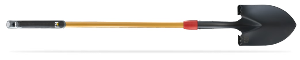 LONG HANDLE DIGGING SHOVEL WITH ROUND POINT