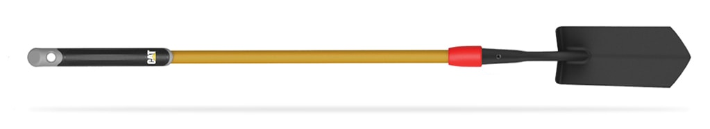"""LONG HANDLE TRENCHING SPADE WITH 4"""" BLADE"""