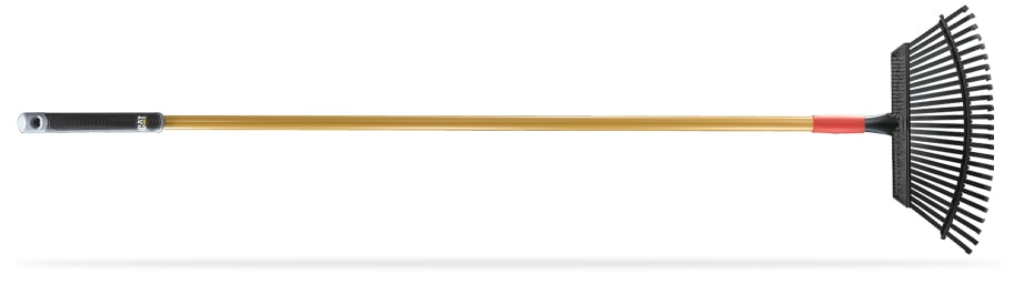 """19"""" LAWN & THATCHING RAKE WITH SPRING STEEL TINES"""